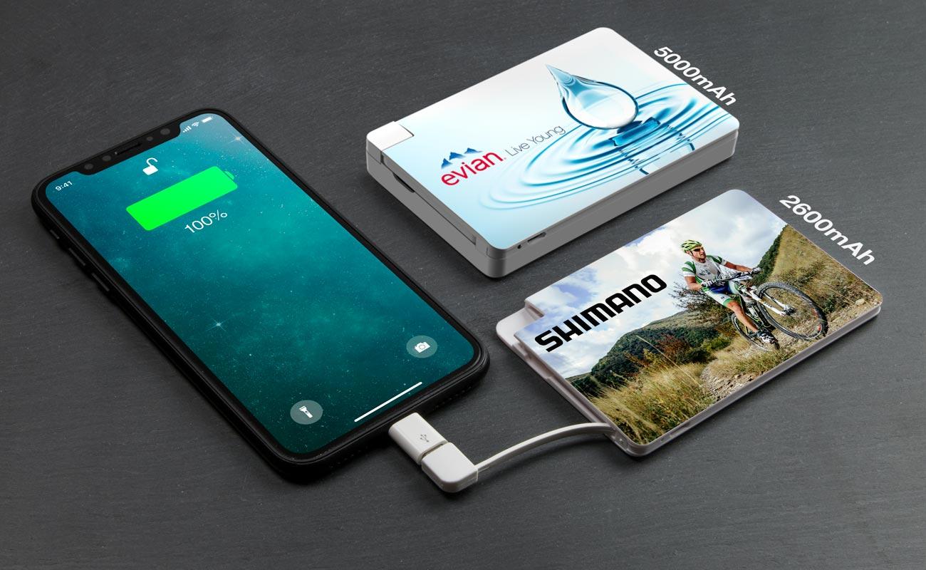 カード - 法人ギフトモバイルバッテリー