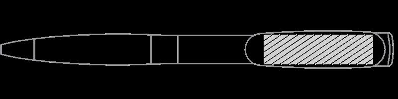 USBボールペン スクリーン印刷