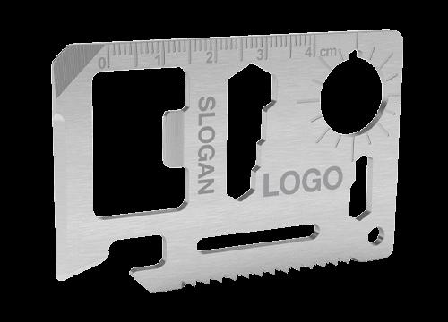 キット - ロゴ入りクレジットカード型ツール