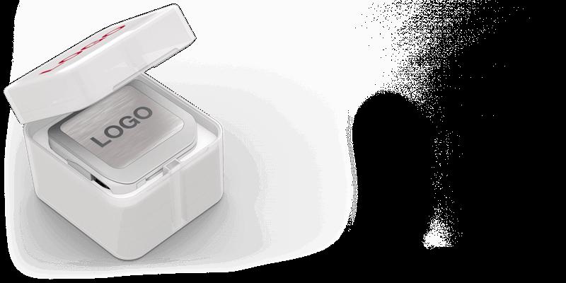 ブリッジ - ロゴ彫刻パワーバンク