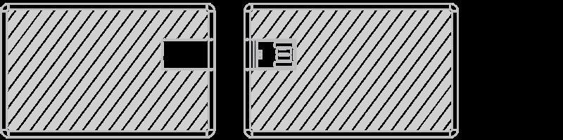 USBカード スクリーン印刷