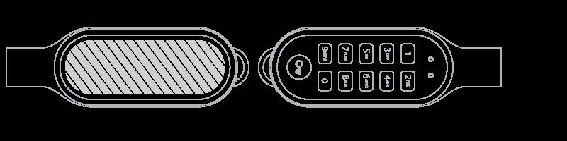 USBメモリ スクリーン印刷