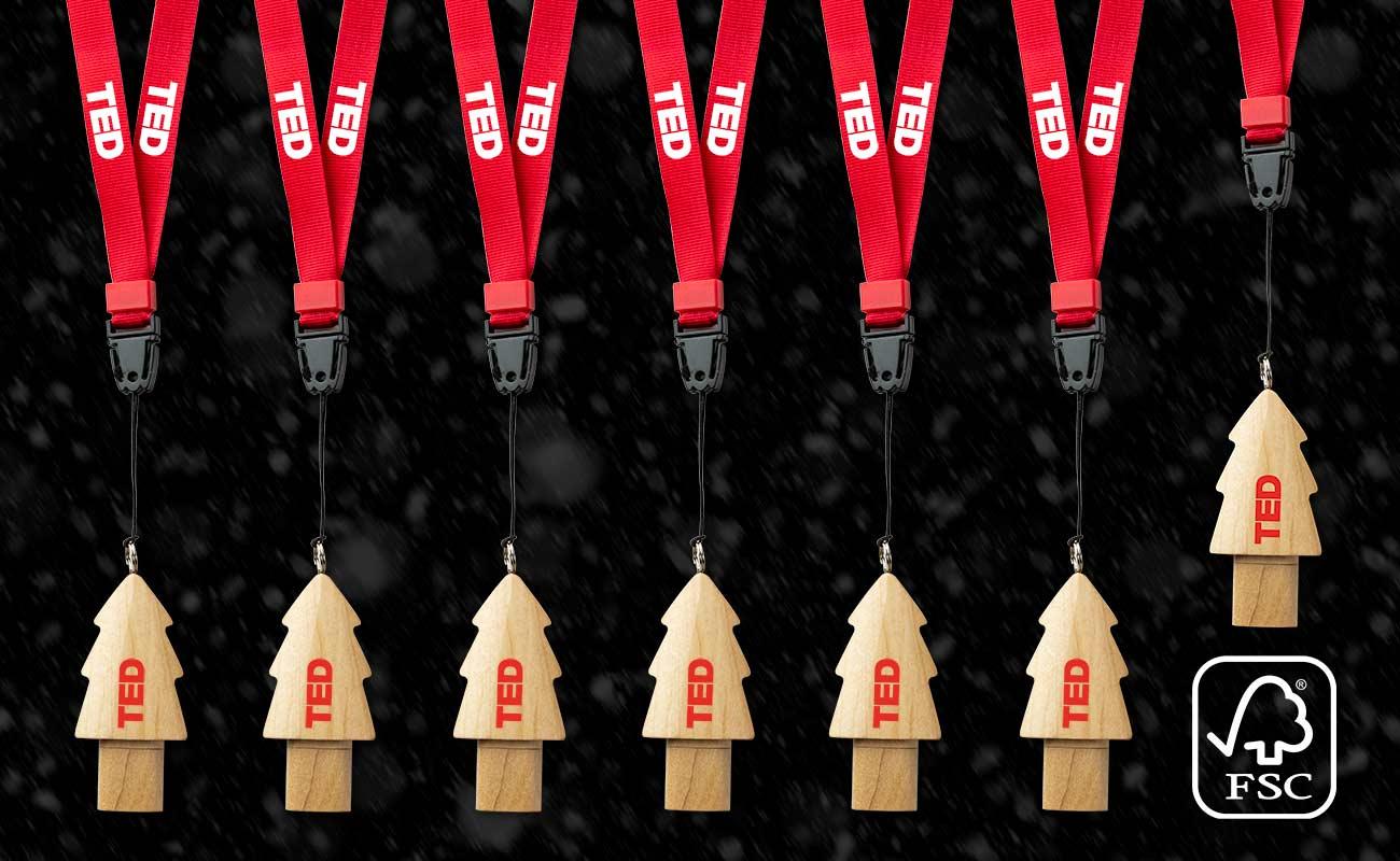 クリスマス - USB 名入れ