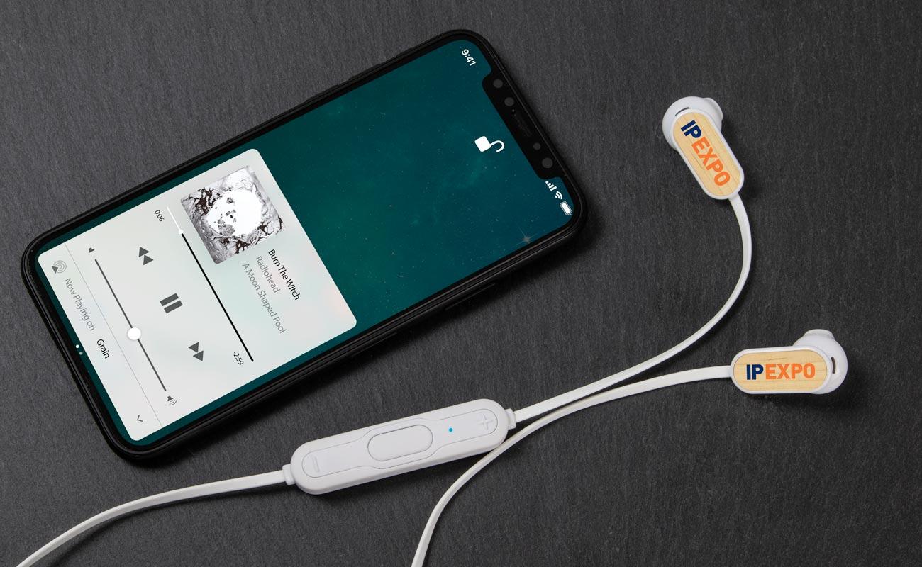 グレイン Bluetooth® - 名入れワイヤレスイヤフォン