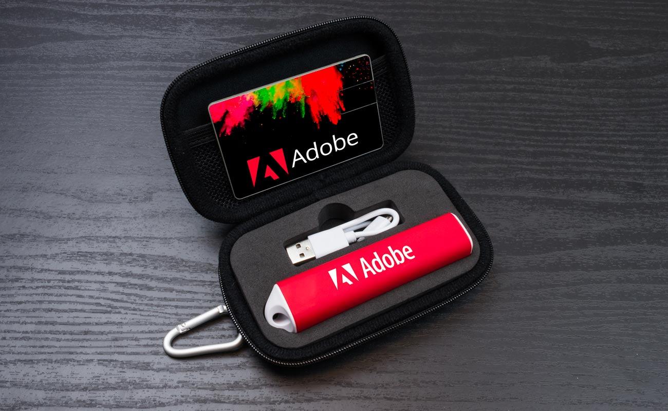 インパクト S - USB 名入れ と 法人ギフトモバイルバッテリー