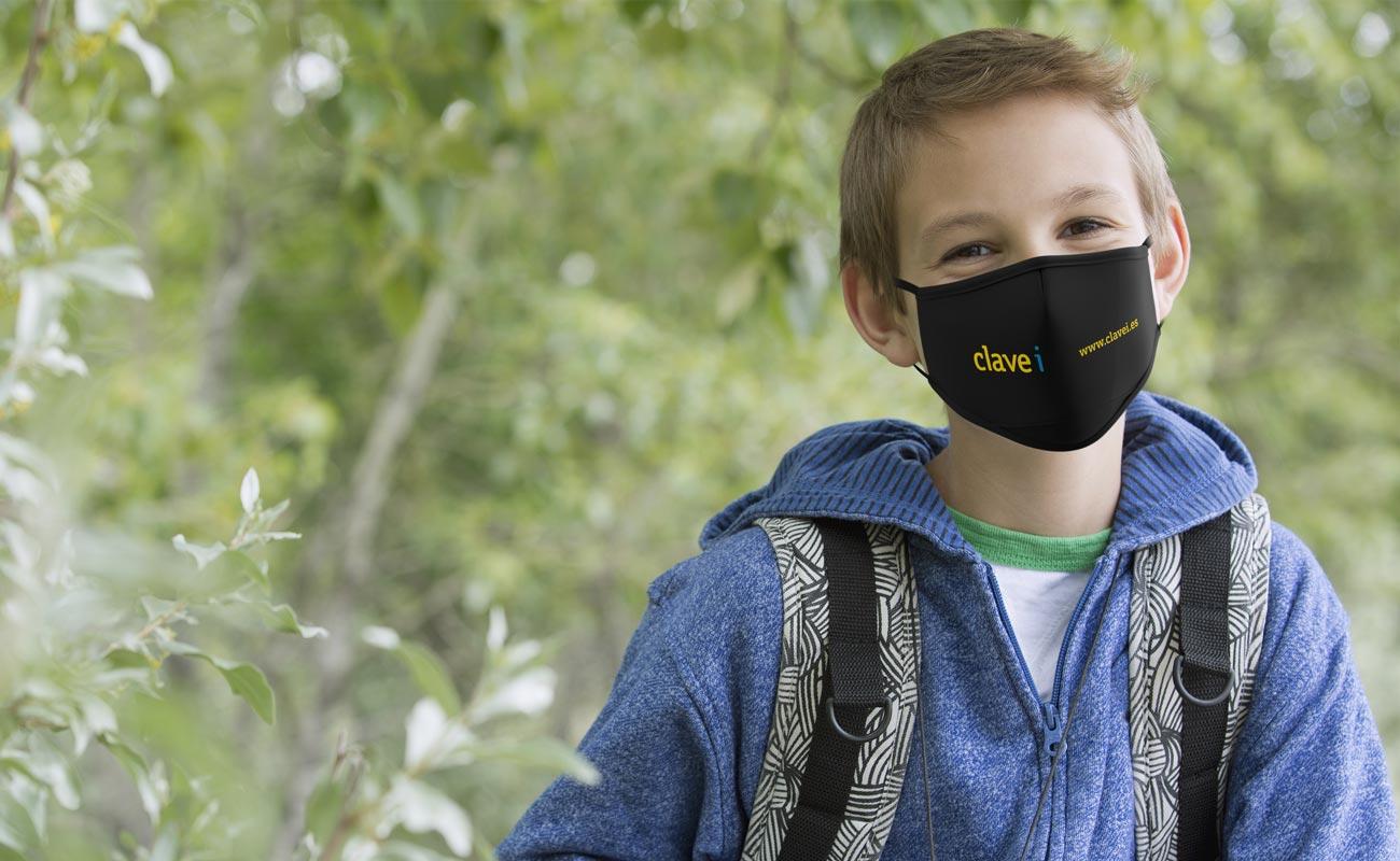 ジュニア - 名入れフェイスマスク