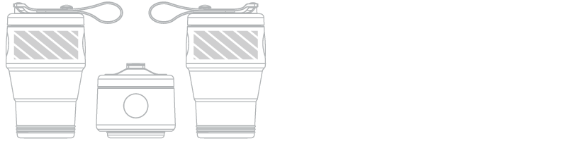携帯カップ スクリーン印刷