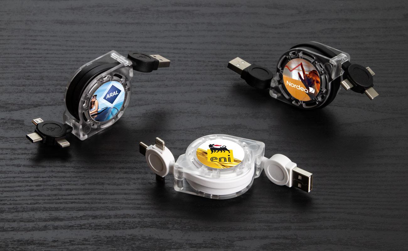 モーション - Promotional USB Cable Bundles
