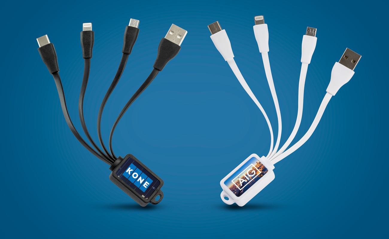 マルチ - カスタマイズ オクトパス USBケーブル